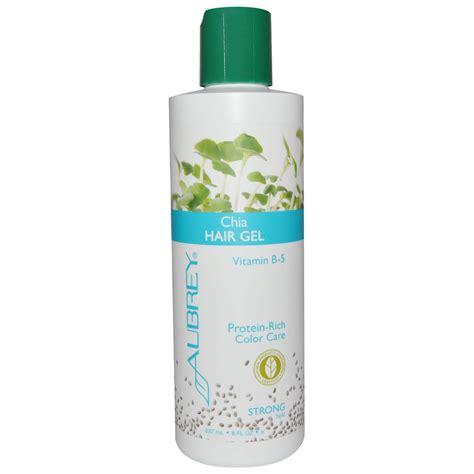 styling gel organic aubrey organics chia hair gel strong hold 8 fl oz 237