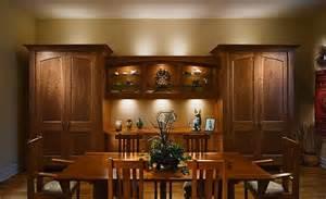 handmade figured cherry dinning room cabinet by