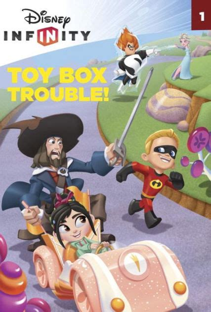 Disney Infinity The Essential Guide Disney Characters box trouble disney infinity by weingartner