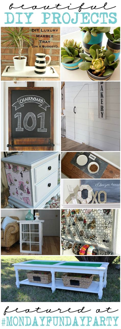 10 diy projects 10 diy project ideas mondayfundayparty