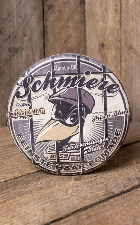 Pomade Vespa schmiere special rock by rumble59 grease made in
