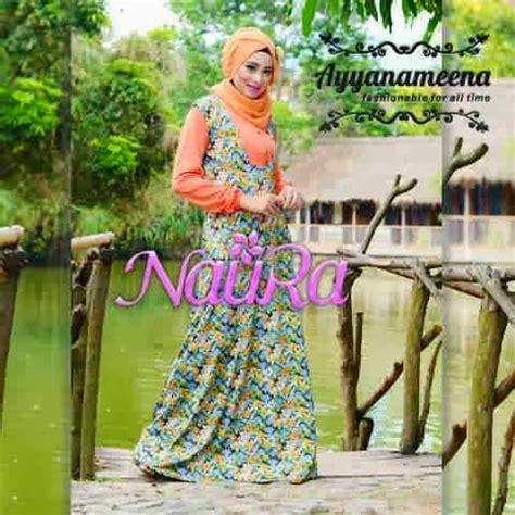 Jaguard Gliter Motif M Dan L galeri azalia toko baju busana muslim modern dan