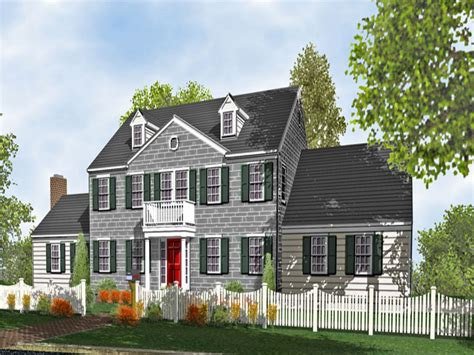 House Plans Colonial by Colonial Style Homes Colonial Two Story Home Plans For