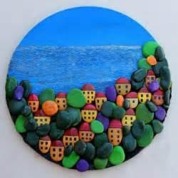dekoration mit steinen steine bemalen bastelideen zur wertvollen kunst