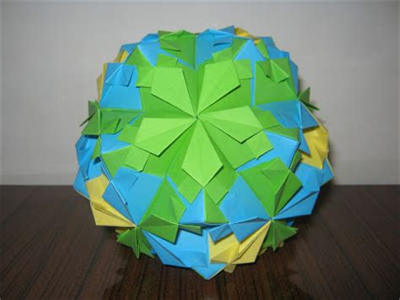 Sle Origami - origami maniacs origami petal globe by tomoko fuse