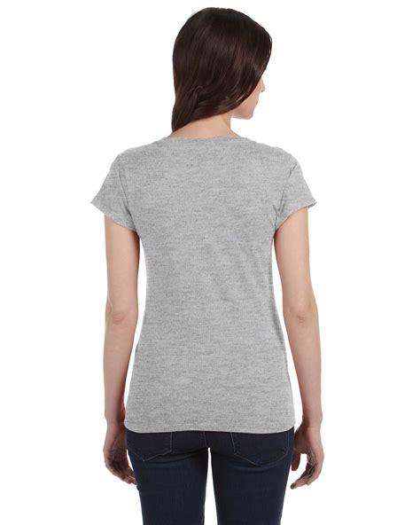 Tshirt Mhorpins 5 gildan softstyle junior fit v neck t shirt g64vl ebay