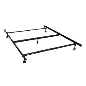 Milliard Heavy Duty Adjustable Full Queen Metal Deluxe Bed Metal Bed Frame With Center Support