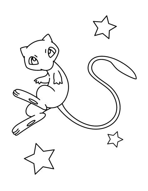 pokemon coloring pages mew pokemon advanced coloring pages color pokemon coloring