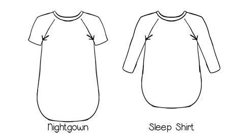 Nightshirt Pattern | callie s nightgown nightshirt pattern for women sizes xs