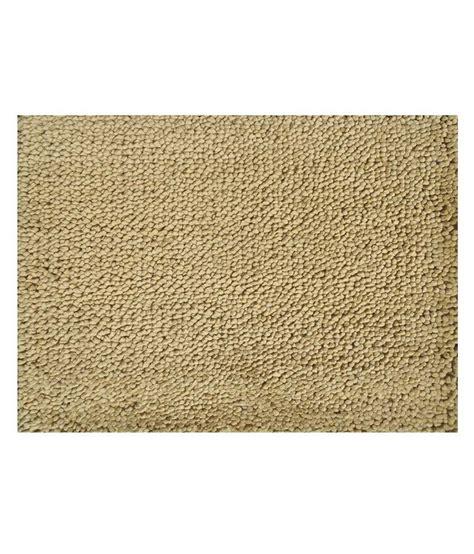 royal collection beige plain woolen floor mat buy