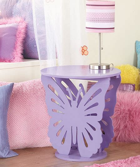 etsy bohemian forver21 butterfly shape decorated simple design silver purple butterfly shaped wooden accent side table