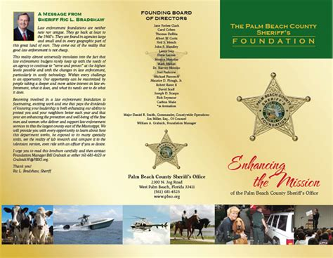 Mba Programs In Palm County by Programs The Palm County Sheriff S Foundation
