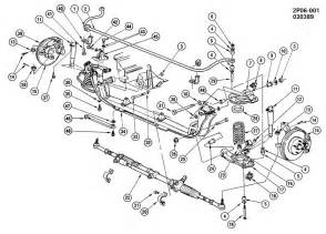 1987 Pontiac Fiero Parts 1987 Pontiac Fiero Suspension Front