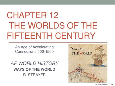 chapters in the history of the in the isles classic reprint books chapter 12 ways of the world worlds of 15th century