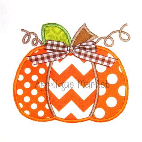 machine embroidery designs applique machine embroidery design applique pumpkin three by tmmdesigns