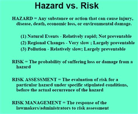 environmental health and hazard risk assessment principles and calculations books risk assessment