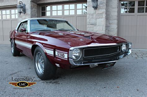 mustang 1969 shelby 1969 shelby gt500 scj convertible extremely and
