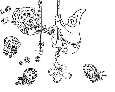 Free Printable Spongebob Squarepants Coloring Pages For Kids Free Printable Coloring Pages Spongebob