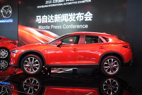 mazda 4 by 4 mazda cx 4 suv coup 233 premiere in peking