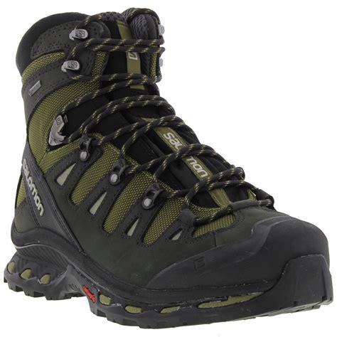 salomon quest 4d gtx mens walking boots salomon quest 4d 2 gtx mens tex waterproof walking