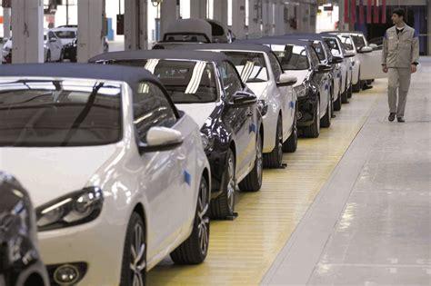 volkswagen production das volkswagen werk in osnabrueck produktion des neuen