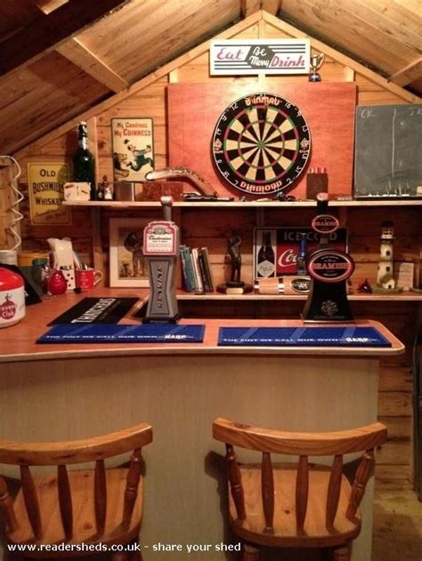 this is how to make your shed into your own bar