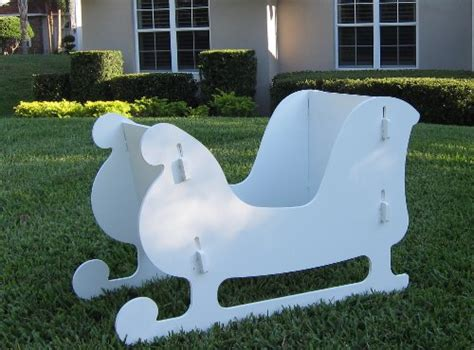 reindeer sleigh lawn decorations for christmas outdoor santa sleigh and 2 reindeer set tec ofertas