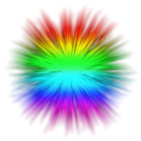 rainbow explosion transparent by thatbluecreeper on deviantart