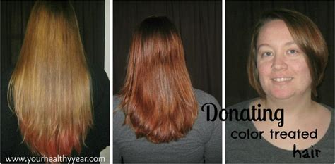 hair styles after donating hair donating color treated hair and gray hair is possible