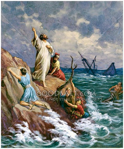 the forever ship the sermon books paul shipwrecked