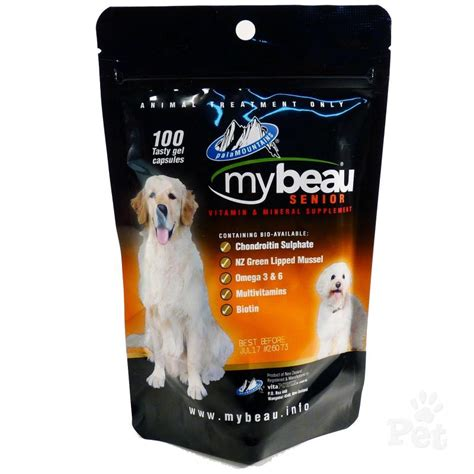 vitamins for dogs my beau vitamin supplement for senior dogs