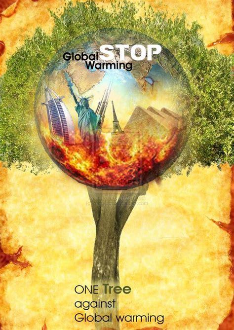 membuat poster global warming stop global warming poster photoshop by minaluiz on