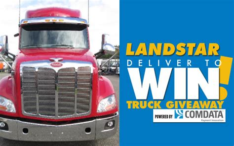 bco appreciation days 2017 truck giveaway landstar - Truck Sweepstakes 2017
