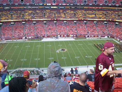 Fedexfield Section 401 Rateyourseats Com