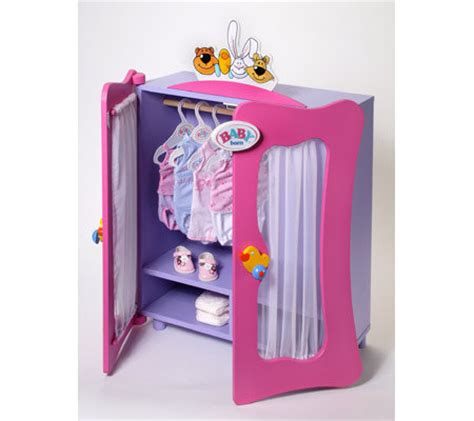 Wardrobe For Baby by Baby Born Wooden Wardrobe Qvc