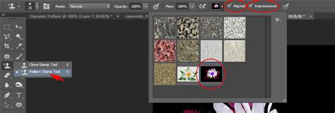 Pattern St Tool In Adobe Photoshop | working with pattern st tool in photoshop
