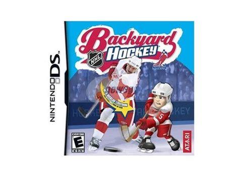 backyard hockey ds backyard hockey nintendo ds game outdoor furniture