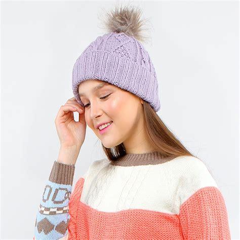 1 Set Syal Dan Topi Kupluk Rajut perlengkapan musim dingin syal rajut ready stock topi