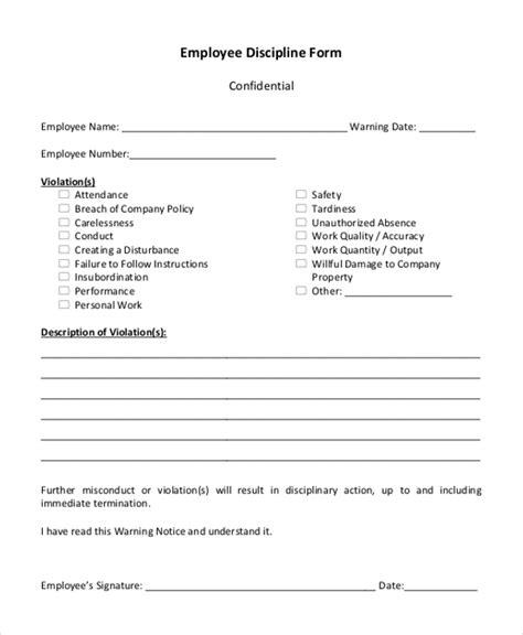 sle harassment complaint form sle warning letter for damaging company property