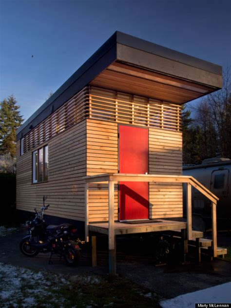 Small Homes Vancouver Bc Tiny Home In Vancouver May Be Small But It S Also