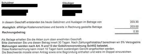 Rechnung Anfechten Schweiz Wiehernder Amtsschimmel Stellt 30 Rappen In Rechnung Steiger