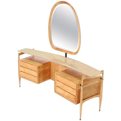 mid century italian modern vanity dressing table for sale