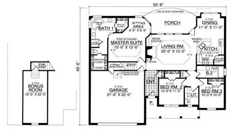 one story bungalow house plans one story bungalow floor plans bungalow house plans with