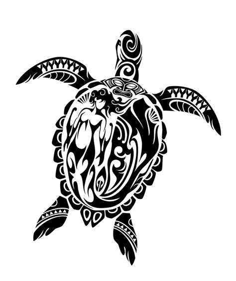 tribal turtle tattoo 7 beautiful tribal sea turtle only tribal