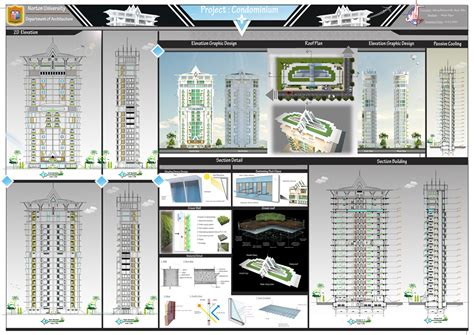 layout sketchup a0 tigerarchtecture design condominum a0 design