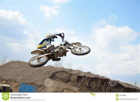 flying with a large flying with large horizontal tilt a motorcycle stock photography image 20245962