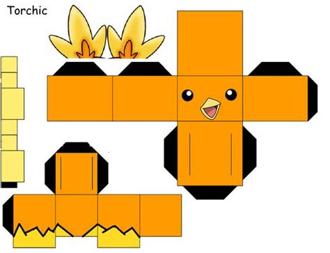 Pichu Papercraft - papercraft search and on