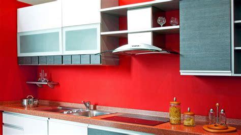 colores pared cocina decoraci 243 n de cocinas en color rojo menos es m 225 s