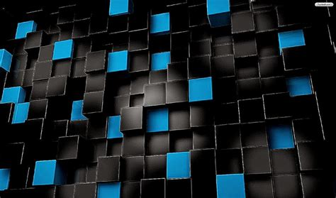 wallpaper blue cube wallpaper black blue cubes important wallpapers