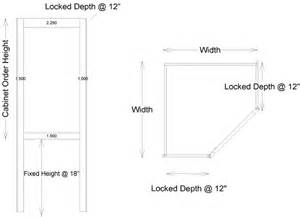 Depth Of Upper Kitchen Cabinets by Upper Cabinet Angle Fixed Depth 12 Inches W Appliance